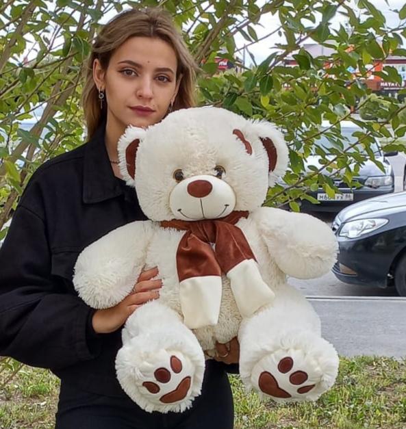 Плюшевый медведь Тимоша 80см Тюмень